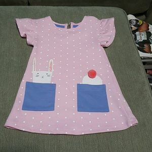 Adorable Cat and Jack Bunny dress